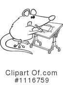 Royalty-Free (RF) Possum Clipart Illustration #1116759