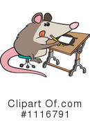 Royalty-Free (RF) Possum Clipart Illustration #1116791