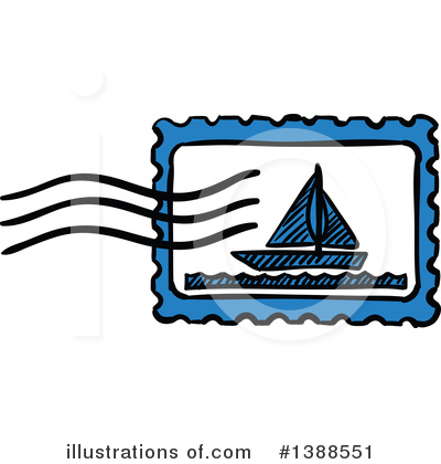 Mail Clipart #1388551 by Vector Tradition SM