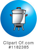 Royalty-Free (RF) pot Clipart Illustration #1182385