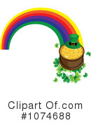 Pot Of Gold Clipart #1074688 by Pams Clipart
