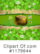 Pot Of Gold Clipart #1179644 by merlinul