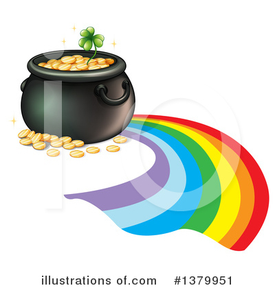 Rainbow Clipart #1379951 by Graphics RF
