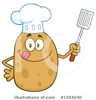 Spatula Clipart #1334240 by Hit Toon