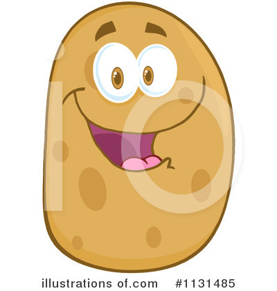 Potato Clipart #1131485 by Hit Toon
