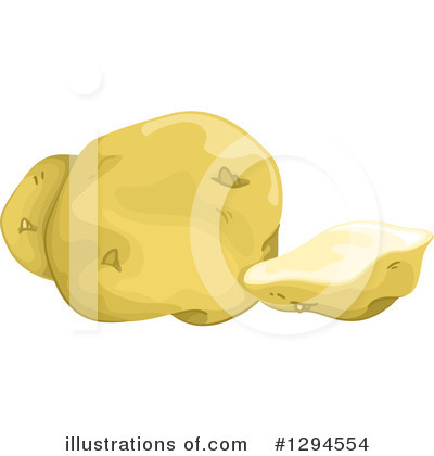 Royalty-Free (RF) Potato Clipart Illustration by BNP Design Studio - Stock Sample #1294554