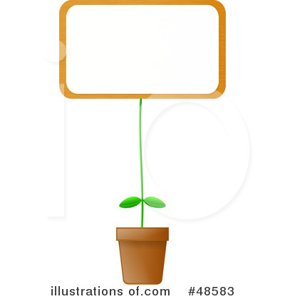 plant clip art. Potted Plant Clipart #48583 by