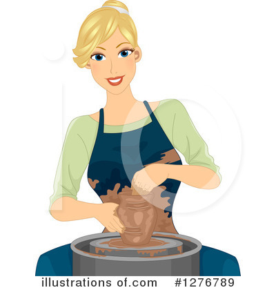 Pottery Clipart #1276789 by BNP Design Studio