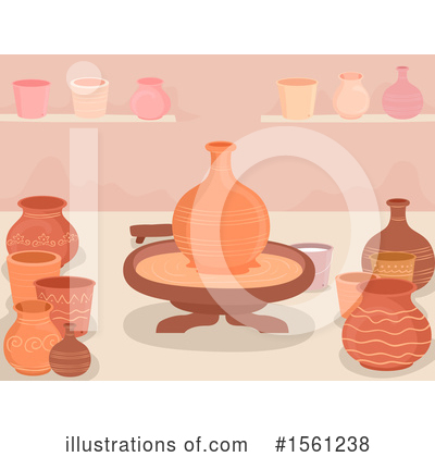 Royalty-Free (RF) Pottery Clipart Illustration by BNP Design Studio - Stock Sample #1561238