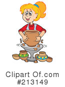 Pottery Clipart #213149 by visekart