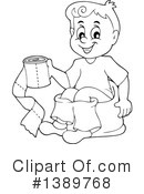 Potty Training Clipart #1389768 by visekart