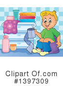 Potty Training Clipart #1397309 by visekart