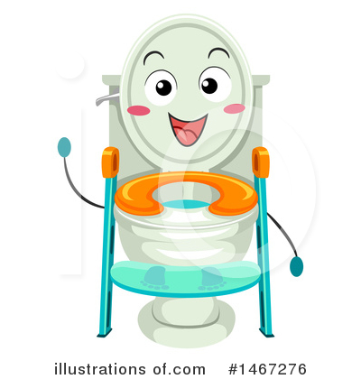 Potty Training Clipart #1467276 by BNP Design Studio