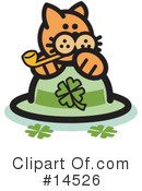 Pounce Cat Clipart #14526