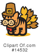 Royalty-Free (RF) Pounce Cat Clipart Illustration #14532