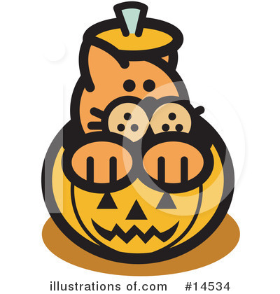 Halloween Clipart #14534 by Andy Nortnik
