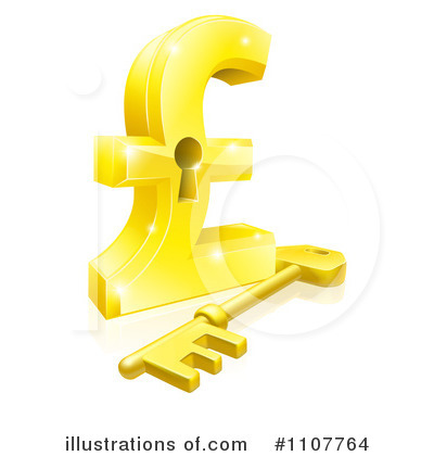Royalty-Free (RF) Pound Sterling Clipart Illustration by AtStockIllustration - Stock Sample #1107764