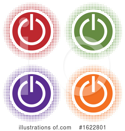 Power Button Clipart #1622801 by Lal Perera