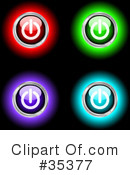 Power Button Clipart #35377 by KJ Pargeter