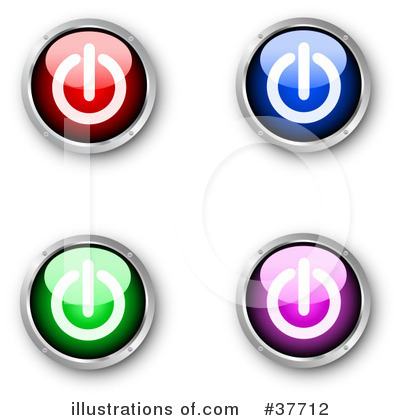 Power Button Clipart #37712 by KJ Pargeter