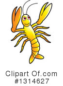 Prawn Clipart #1314627 by Lal Perera