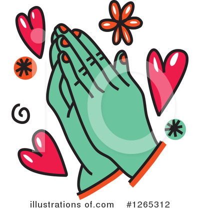 Royalty-Free (RF) Prayer Clipart Illustration by Prawny - Stock Sample #1265312