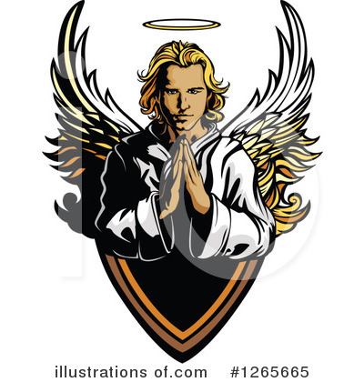 Guardian Angel Clipart #1265665 by Chromaco