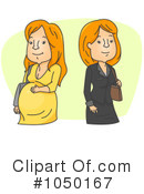 Pregnant Clipart #1050167 by BNP Design Studio