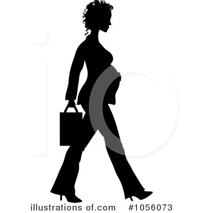 Pregnant Clipart #1056073 by Pams Clipart