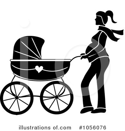 Pregnant Clipart #1056076 by Pams Clipart