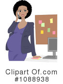 Royalty-Free (RF) pregnant Clipart Illustration #1088938