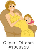 Pregnant Clipart #1088953 by BNP Design Studio