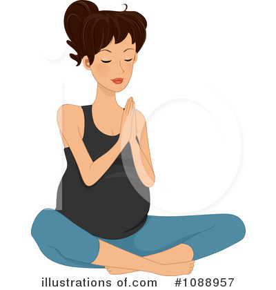 Yoga Clipart #1088957 by BNP Design Studio