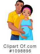Royalty-Free (RF) Pregnant Clipart Illustration #1098896