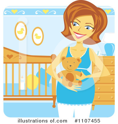 Pregnant Clipart #1107455 by Amanda Kate