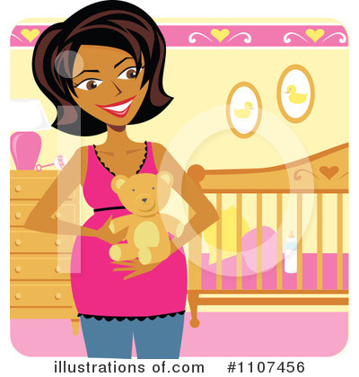 Crib Clipart #1107456 by Amanda Kate