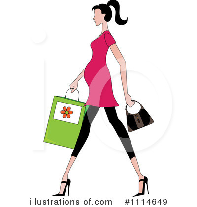 Fashion Clipart #1114649 by Pams Clipart