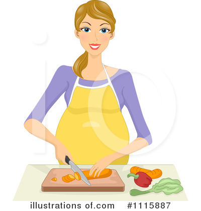 Pregnant Clipart #1115887 by BNP Design Studio