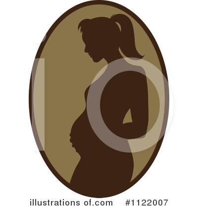Pregnant Clipart #1122007 by Pams Clipart