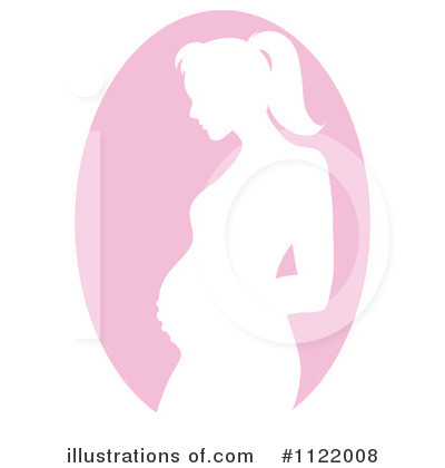 Pregnant Clipart #1122008 by Pams Clipart