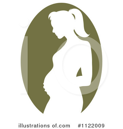 Pregnant Clipart #1122009 by Pams Clipart