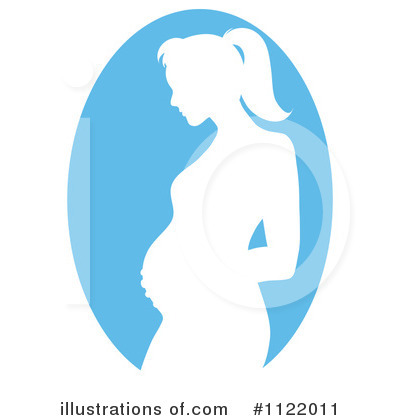 Pregnant Clipart #1122011 by Pams Clipart