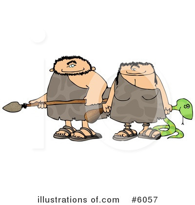 Cave Woman Clipart #6057 by djart