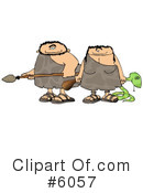Royalty-Free (RF) Prehistoric Clipart Illustration #6057