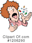 Royalty-Free (RF) Prescription Clipart Illustration #1206290