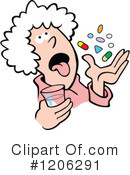 Royalty-Free (RF) Prescription Clipart Illustration #1206291