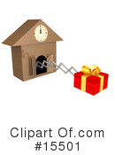 Royalty-Free (RF) Present Clipart Illustration #15501