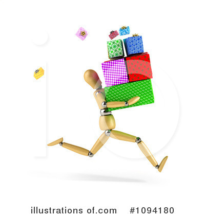 Royalty-Free (RF) Presents Clipart Illustration by stockillustrations - Stock Sample #1094180