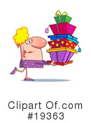 Presents Clipart #19363 by Hit Toon