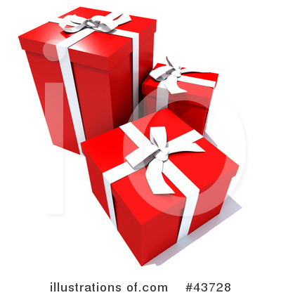 Presents Clipart #43728 by Frank Boston